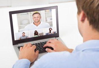 video thuiswerken videomeeting